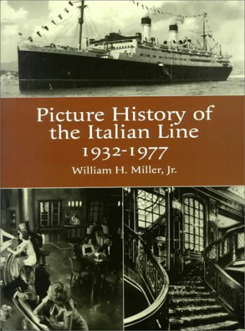 9780486404899: The Picture History of the Italian Line, 1932-1977