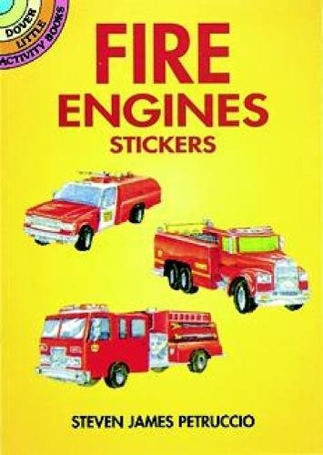 9780486405025: Fire Engines Stickers