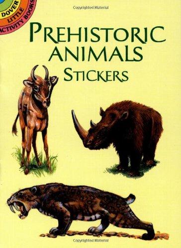 9780486405056: Prehistoric Animals Stickers
