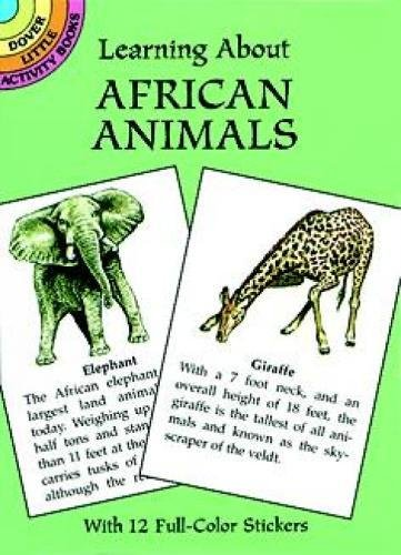 9780486405339: Learning About African Animals (Dover Little Activity Books)