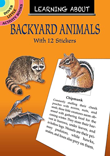 Learning About Backyard Animals (Dover Little Activity Books) (0486405346) by Sy Barlowe
