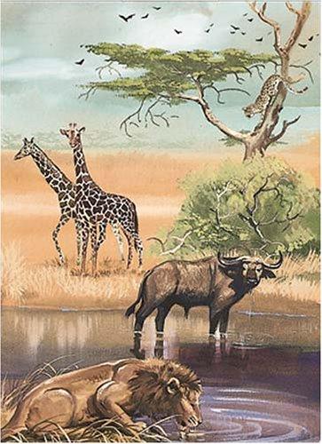 9780486405445: African Animals Notebook