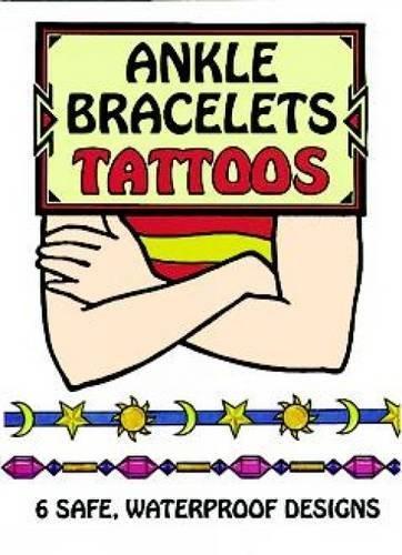ANKLE BRACELETS TATTOOS (6 different designs) (b)