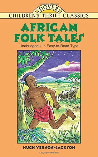 9780486405537: African Folk Tales (Dover Children's Thrift Classics)