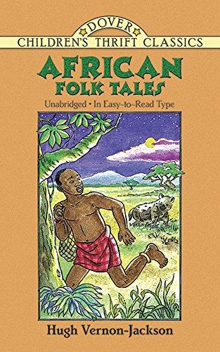 9780486405537: African Folk Tales (Dover Children's Thrift Classics)