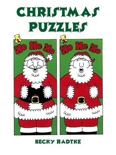 Christmas Puzzles (Dover Holiday Coloring Book): Becky Radtke