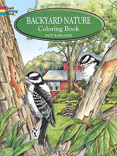 9780486405605: Backyard Nature Coloring Book (Dover Nature Coloring Book)