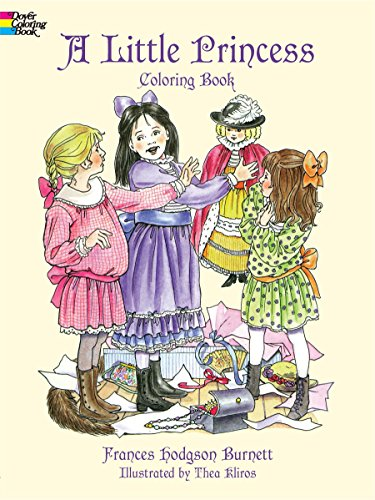 9780486405612: A Little Princess Coloring Book (Dover Coloring Books)
