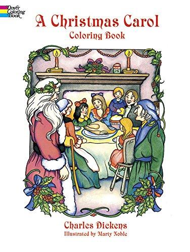 9780486405636: A Christmas Carol Coloring Book