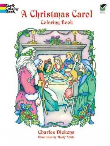 9780486405636: A Christmas Carol (Dover Holiday Coloring Book)