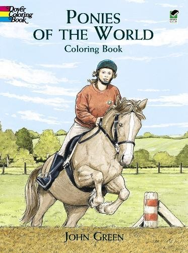 9780486405643: Ponies of the World Coloring Book (Dover Nature Coloring Book)