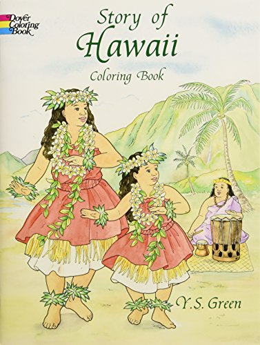 9780486405650: Story of Hawaii Coloring Book (Dover History Coloring Book)