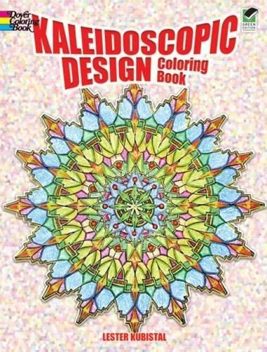 9780486405667: Kaleidoscope Design Colouring Book (Dover ...