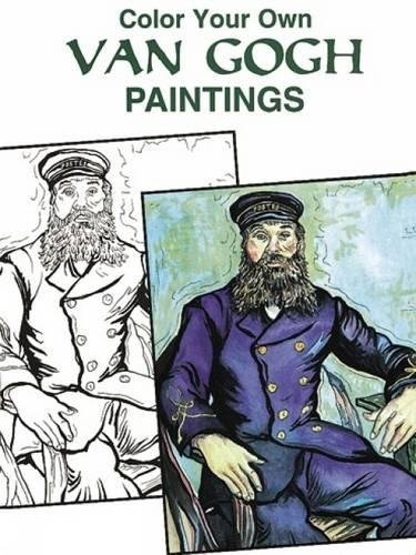 9780486405704: Color Your Own Van Gogh Paintings (Dover Art Coloring Book)