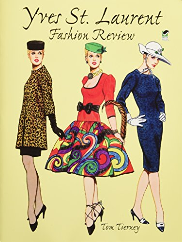9780486405780: Yves St.Laurent Fashion (Dover Paper Dolls)