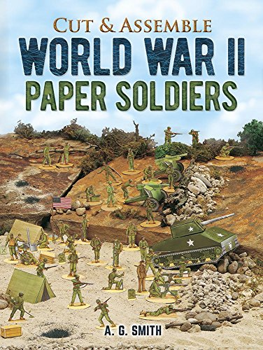 Cut and Make GI Paper Soldiers (Models & Toys): Smith, A. G.