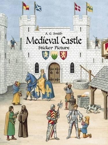 9780486405889: Medieval Castle Sticker Picture