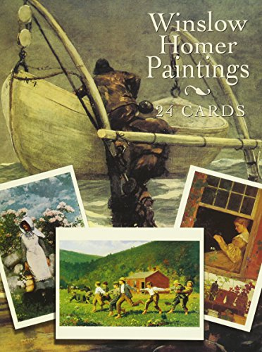 9780486405902: Winslow Homer Paintings: 24 Cards (Dover Postcards)