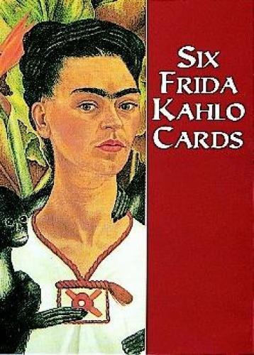 9780486405919: Six Frida Kahlo Cards (Dover Postcards)