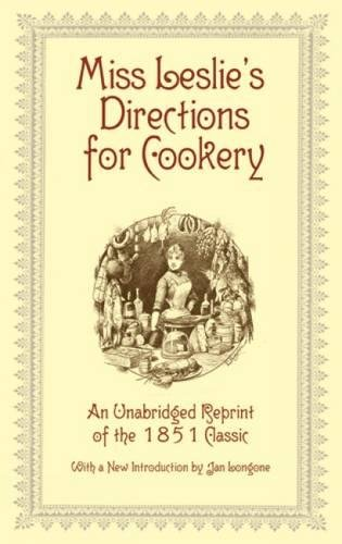 9780486406145: Miss Leslie's Directions for Cookery