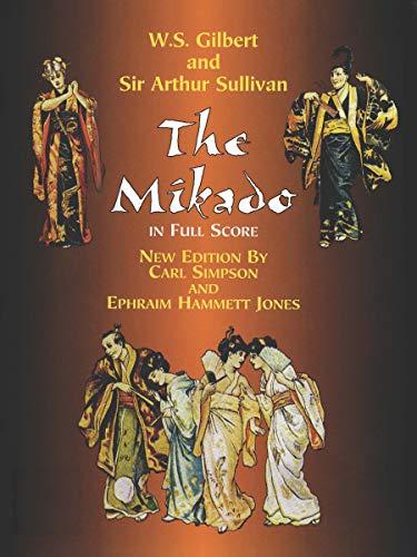 9780486406268: The Mikado in Full Score (Dover Music Scores)