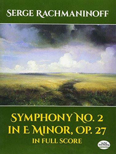 9780486406299: Symphony No. 2 In E Minor, Op. 27, in Full Score (Dover Music Scores)