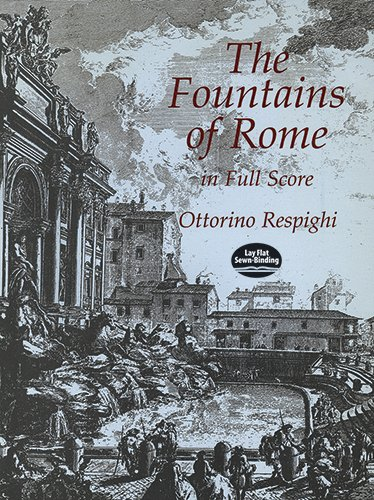 9780486406305: The Fountains of Rome in Full Score