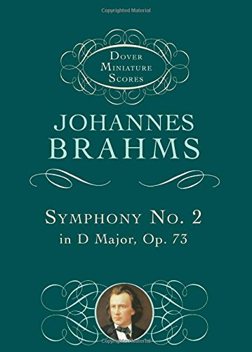 9780486406374: Symphony No. 2 in D Major, Op. 73 (Dover Miniature Music Scores)