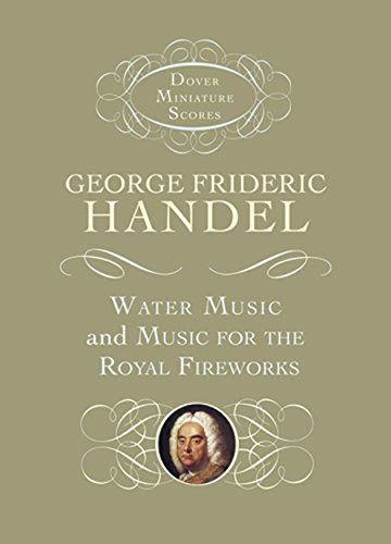 9780486406381: Water Music and Music for the Royal Fireworks (Dover Miniature Music Scores)