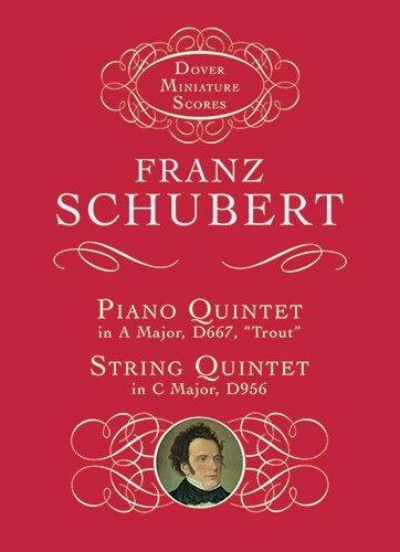 9780486406435: Piano Quintet & String Quintet (Dover Miniature Scores)