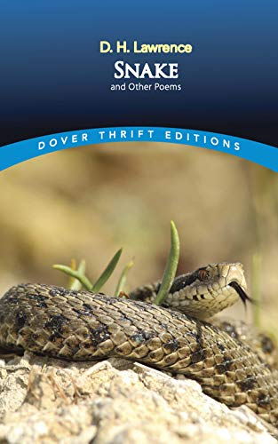 Snake and Other Poems (Paperback): D. H. Lawrence