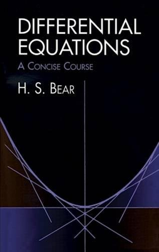 9780486406787: Differential Equations: A Concise Course (Dover Books on Mathematics)
