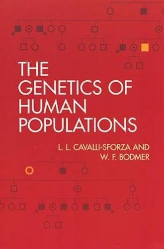 9780486406930: The Genetics of Human Populations