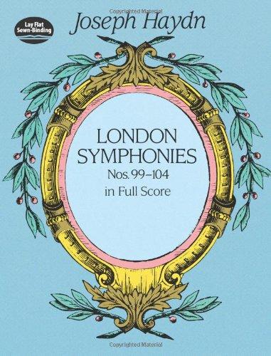 9780486406978: London Symphonies : Nos. 99-104 in Full Score