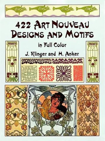 9780486407050: 422 Art Nouveau Designs and Motifs in Full Color