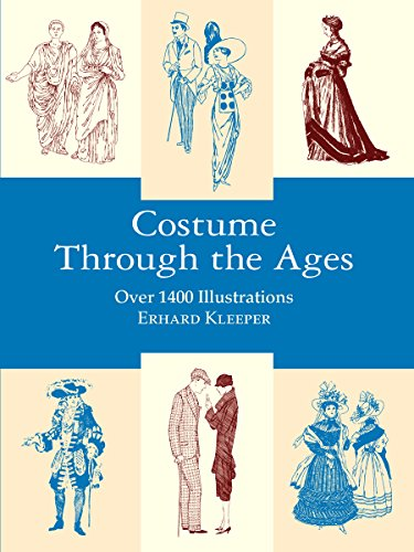 9780486407227: Costume Through the Ages: Over 1400 Illustrations