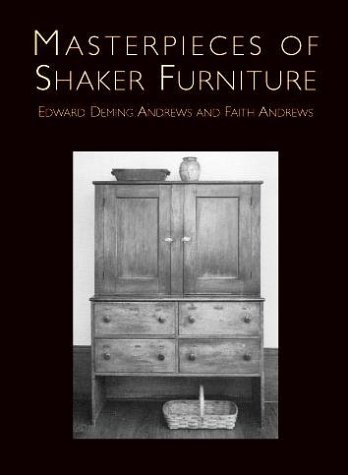 9780486407241: Masterpieces of Shaker Furniture