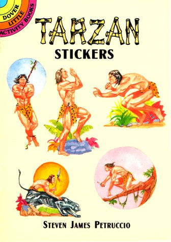 9780486407425: Tarzan Stickers (Dover Little Activity Books Stickers)