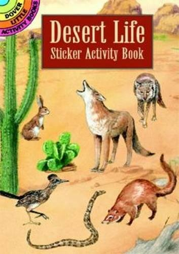 9780486407470: Desert Life Sticker Activity Book (Dover Little Activity Books Stickers)