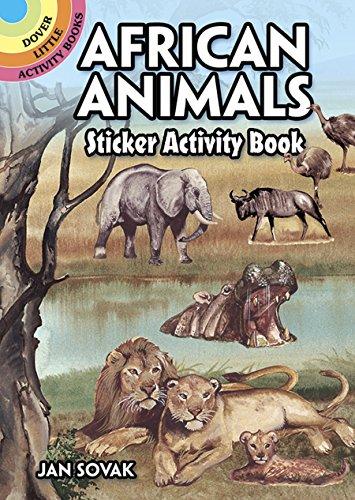 9780486407494: African Animals Sticker Activity Book (Dover Little Activity Books Stickers)