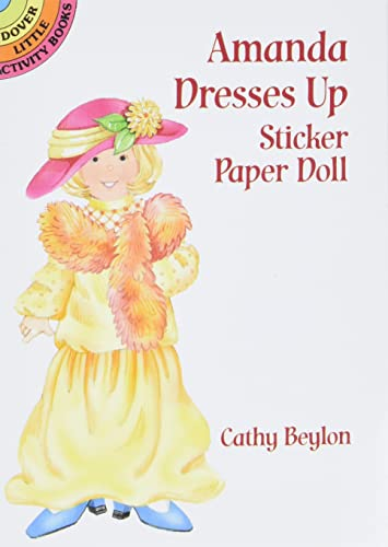 9780486407531: Amanda Dresses up Sticker P'Dolls (Dover Little Activity Books Paper Dolls)