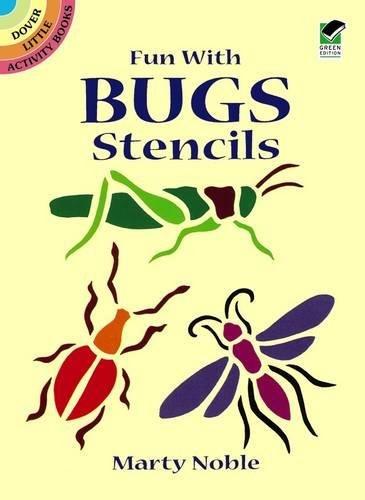 9780486407593: Fun with Bugs Stencils (Dover Stencils)