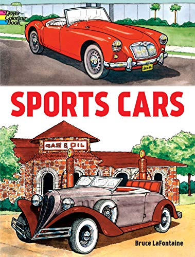 9780486408026: Sports Cars (Dover Coloring Books)