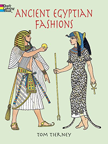 9780486408064: Ancient Egyptian Fashions (Dover Fashion Coloring Book)