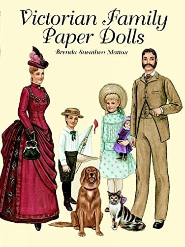 9780486408118: Victorian Family Paper Dolls