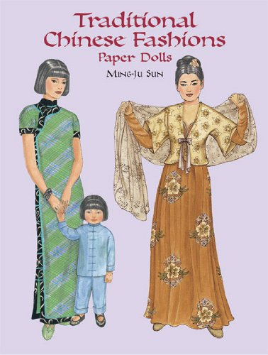 9780486408125: Traditional Chinese Fashions Paper Dolls (Dover Paper Dolls)