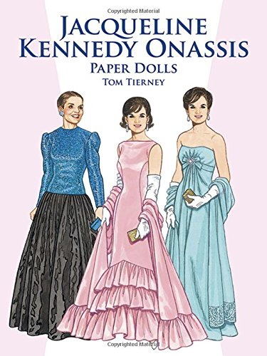 9780486408156: Jacqueline Kennedy Onassis Paper Dolls