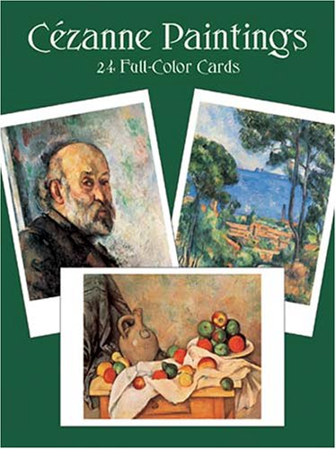 CÃ zanne Paintings: 24 Full-Color Cards (Card: Paul CÃ zanne