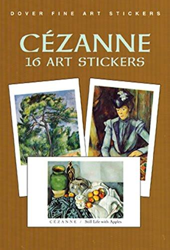 CÃ zanne: 16 Art Stickers (Dover Art: CÃ zanne, Paul