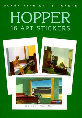 9780486408309: Hopper: 16 Art Stickers (Dover Art Stickers)